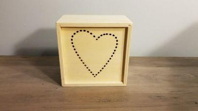 Light up heart box -